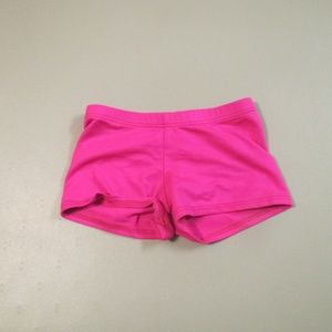 Pink MotionWear Dance Shorts Size 6X-7